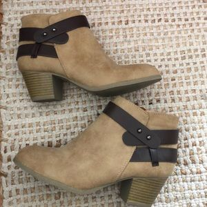 Never worn size 7 city classified booties